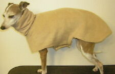 ANY SOLID COLOR LINED HOUSE COAT WHIPPET SALUKI  XOLO