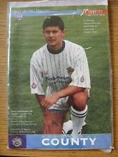 31/07/1995 Stockport County v Manchester City [Opening Of Cheadle Stand] . Item