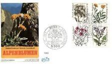 Germany 1983 FDC 1188-91 Kwiaty Blumen Flowers