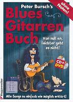 Peter Bursch's Blues-Gitarrenbuch (+DVD und CD ) + 1 Original Sharkfin Plec