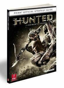 HUNTED EDMONS FORGE OFFICIAL STRATEGY GUIDE