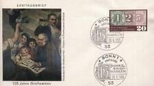 Germany 1965 FDC 482 Jahre Briefmarken Years Stamps