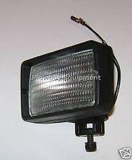 Work Lamp Halogen Flood Light for Massey Kubota Caterpillar Gehl 12v H3 Bulb 55w