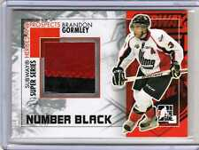 BRANDON GORMLEY 10/11 ITG Number Patch ROOKIE /6 3-color Phoenix Coyotes SP RC