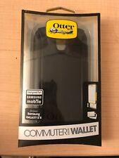 OtterBox Commuter Wallet w/Card Slot Hard Shell Case for Samsung Galaxy S4 Black