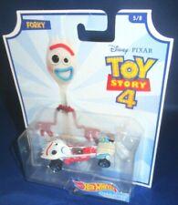 Disney Pixar Toy Story 4 Hot Wheels Forky No 5 Diecast Vehicle 1 55 HW