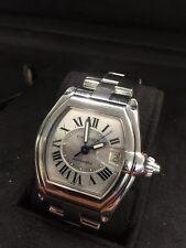 Cartier Roadster GMT  Silver 752191CE Men's Wrist watch