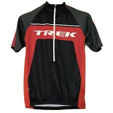 Bontrager Trek Cycling Solstice Jersey Shirt XS Polyester Red Gray Pullover