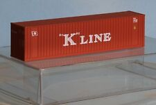 Walthers 933-3404, Spur N,  40´HI-Cube Container K-Line, rot, vgl. Faller 272820