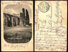 GERMANY Rekruten Depot Feldpostamt 1916 Military Postcard USED XVI ArmeeCorps