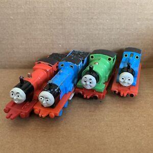 Thomas James Percy Edward - ERTL Diecast x4 - Thomas & Friends Used Train Tank