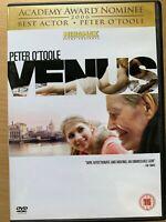 Venus DVD 2006 British Comedy Drama Movie w/ Peter O'Toole and Jodie Whittaker
