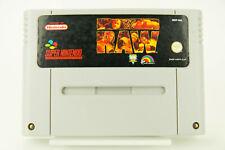 Super Nintendo *WWF Raw* SNES Modul
