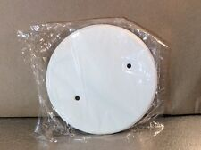 """5"""" White Round Plate (Mulberry 40431 Rqans1)"""