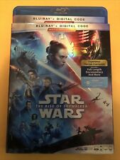 Star Wars The Rise Of Skywalker 2 Disc Blu-ray With Slipcover . No Digital
