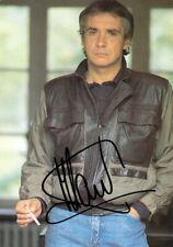 Autographe Original: MICHEL SARDOU / Carte Discographique .