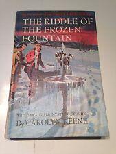The Riddle of The Frozen Fountain - Dana Girls Mystery - Carolyn Keene 1964  1st