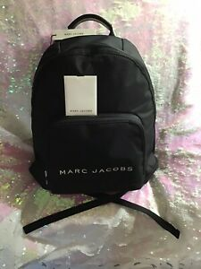 Marc Jacobs Black Backpack NWT