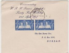 Cover South African Stamps