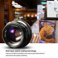 7artisans Photoelectric 35mm f/1.2 Lens For Sony E / Fujifilm X /Canon EF-Mount