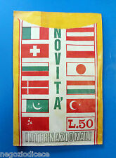 Bustina/Packet - figurine - NOVITA' INTERNAZIONALI - Vuota-Empty