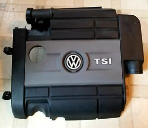 2012 2013 Volkswagen Golf R 2.0 Engine Cover Air Cleaner Assembly VW