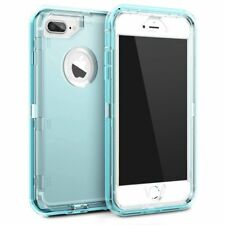 Inspired iPhone 8 7 6s 5 Plus X Shockproof Transparent Clear Defender Cover Case