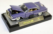 M2 Machines 1/64 SCALA R37 1960 CHRYSLER 300 F Lilla Modello Diecast Auto