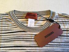 Missoni Crew Neck Striped Short Sleeve Shirt
