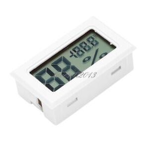 Mini Digital LCD Temperature Humidity Thermometer Hygrometer With Sensor New