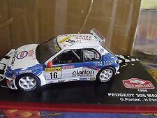 PEUGEOT 306 MAXI RALLYE MONTE CARLO 1998 G. PANIZZI