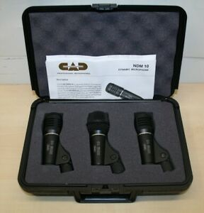 CAD PDK Drum Schlagzeug Mikrofon Set mit Koffer gebraucht
