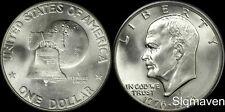 1976 S 40% Silver Eisenhower Dollar Choice/Gem Bu