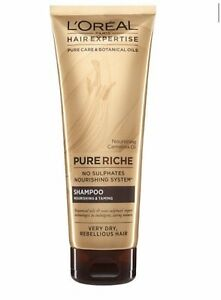 L'Oréal Hair Expertise Riche Replenishing and Taming Shampoo, 250ml