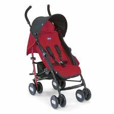 Poussettes et systèmes combinés de promenade rouge avec panier pour bébé