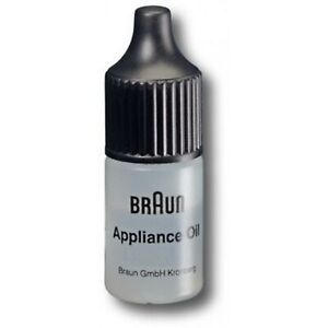 GENUINE Braun Appliance Lubricating Oil 5 ml For all Shavers and Trimmers