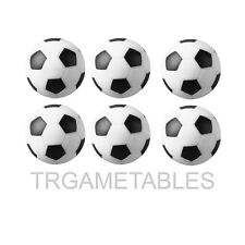 6pcs 35mm Foosball Balls Fussball Ball Replacement for Soccer Table Game AU