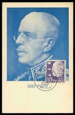 SCHWEDEN MK 1947 KÖNIG GUSTAV KING MAXIMUMKARTE CARTE MAXIMUM CARD MC CM h0865