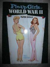 Vtg style paper doll book, Pin-Up Girls of World War II by Tom Tierney, 2009
