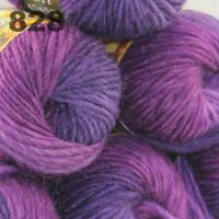 Sale 6 Skeins  x50g New Knitting Yarn Chunky  Colorful Hand Wool Wrap Scarves 28