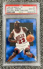 Michael Jordan 1995-96 Skybox E-XL Natural Born Thrillers PSA 10