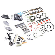 1.8T Engine Repair Rebuilding & Sodium-Filled Valve Kit Fit For VW Jetta Passat
