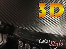 3d Aire Negro Libre De Fibra De Carbono Vinilo 1.52 m (59,8 En) X 0,5 M (19,7 en) Abrigo coche decal