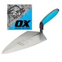 OX Pro Brick Trowel Philadelphia 3 x Sizes DURAGRIP Comfort Handle Bricklaying