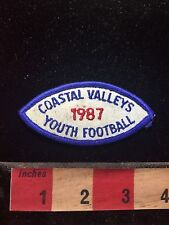 Vintage 1987 COASTAL VALLEY'S FOOTBALL Patch 77Z6