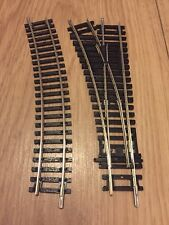 Hornby OO Gauge R8072 Left Hand Points And R606