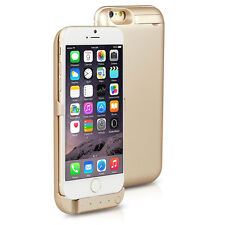 10000mAh PowerBank Case Rechargeable Protective Battery Case iPhone 6 / 6s Gold
