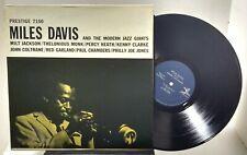 Miles Davis and the Modern Jazz Giants - BLUE LABEL PRESTIGE PRLP 7150