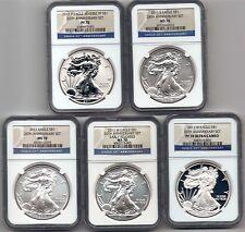 2011 anniversary set ngc 70 5 coins