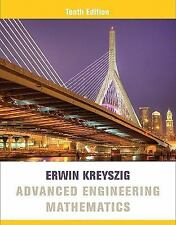 Advanced Engineering Mathematics by Erwin Kreyszig (2011, Hardcover)